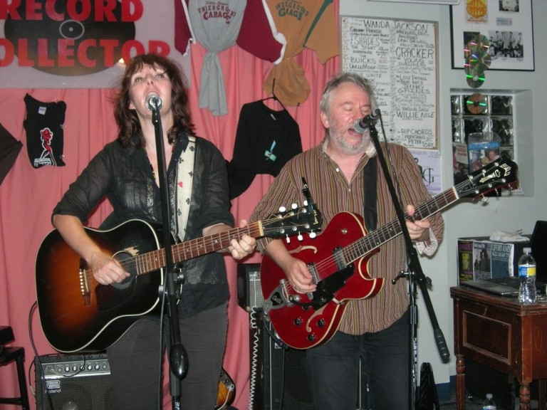 Wreckless Eric and Amy Rigby at The Record Collector in Bordentown, N.J.