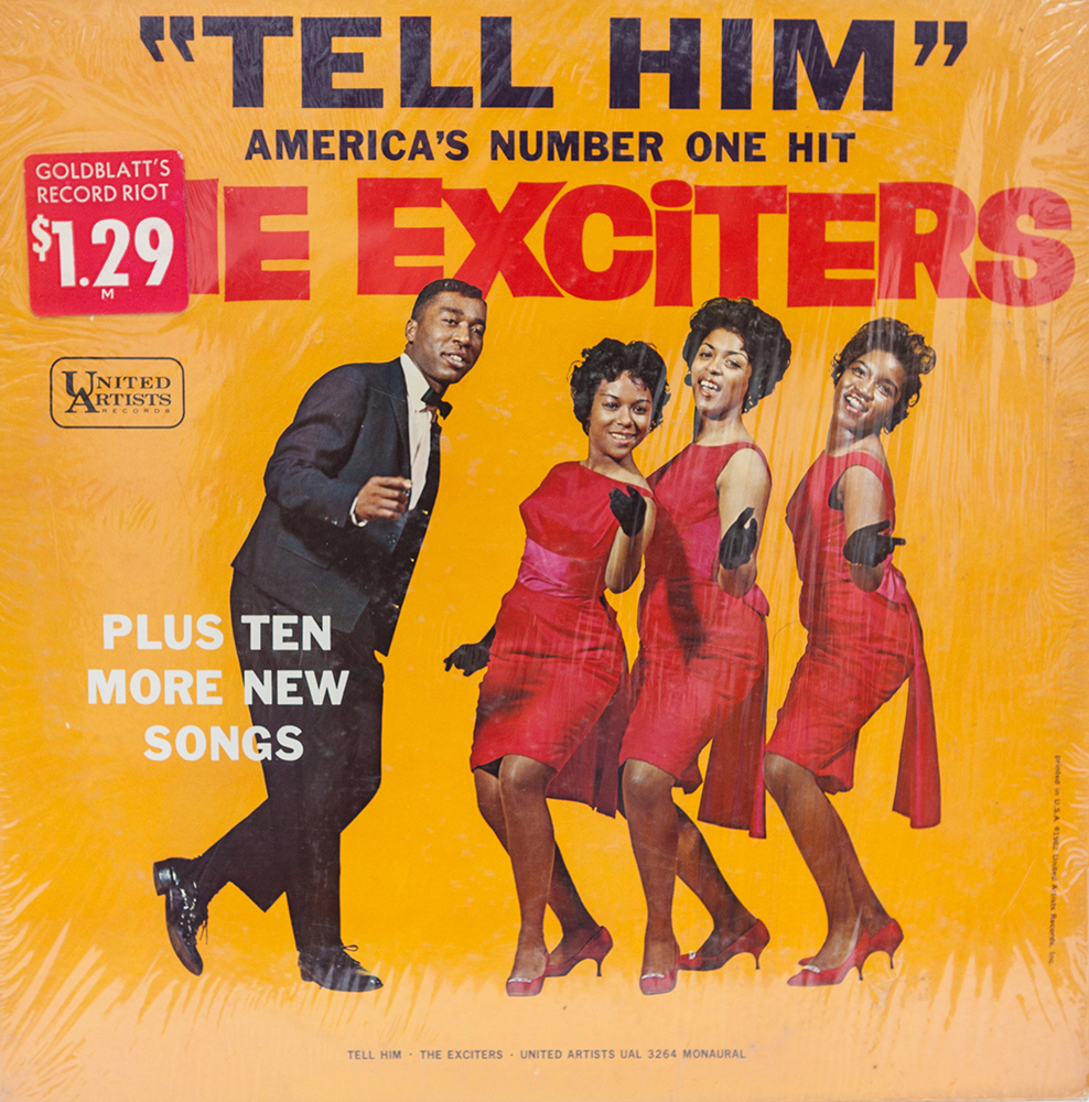 "Lias bought the Exciters LP on the strength of the cover. ""That's just a great, vibrant colorful photograph. It just conjures up the '60s. It's very immediate. Just looking at the cover I thought I'm going to enjoy this."" His verdict in Spinning Around: ""The Exciters were one of the best mixed, that is, boy/girl, quartets to have ever graced soul music, but have somehow escaped unadulterated critical acclaim."""